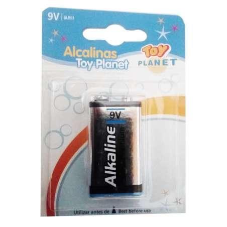 Blister pila Alcalina 9V ó 6LR61