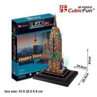 PUZZLE 3D EMPIRE STATE LED...