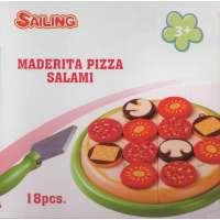 Pizza salami maderita