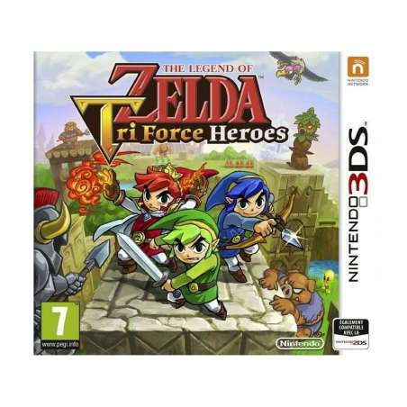 3DS The Leyend of Zelda Triforce Heroes
