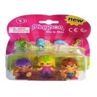 Pin y Pon Pack 3 Fig. 2 Bebes niña Rubia