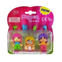 Pin y Pon Pack 3 Fig. 2 niñas y bebe Rub