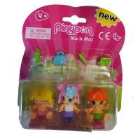 Pin y Pon Pack 3 Fig. 2 Bebes niña Rosa