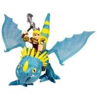 Dragones - Dragón y Vikingo...