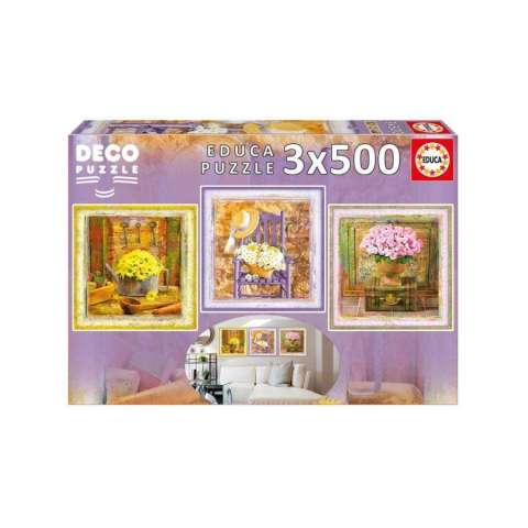 PUZZLE 3 X 500 ENCHANTED...