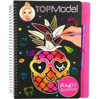 TopModel Magic-Scratch Book