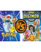 Digimon, Pokemon